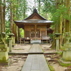 Achi Shrine in Shinshu