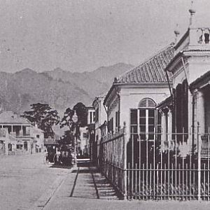 Foreign Settlement in Kobe at the start of the Meiji Period