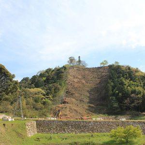 Gassan Toda Castle ruins