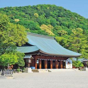 Kashihara Jingu where Takamatsu Sensei used to take Hatsumi Sensei to train
