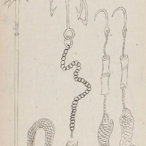Rope and hook tools of the Nojima Ryu