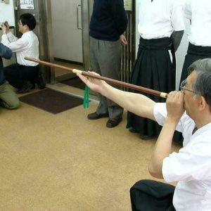 Traditional Fukiyajutsu being practiced in Japan