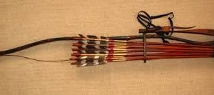 Bow and arrows of the Sengoku period