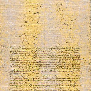 Letter from Date Masammune to Pope Paul V