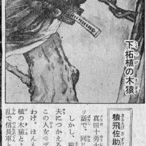 Passage from Hatsumi Soke's Ninja Ninpo Gaho regarding Sarutobi Sasuke and Kogetsu Sasuke