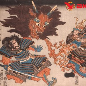 The recipe for conjuring up demons, and two warriors in fear of an oni