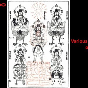 Various manifestations of Kokuzo Bosatsu